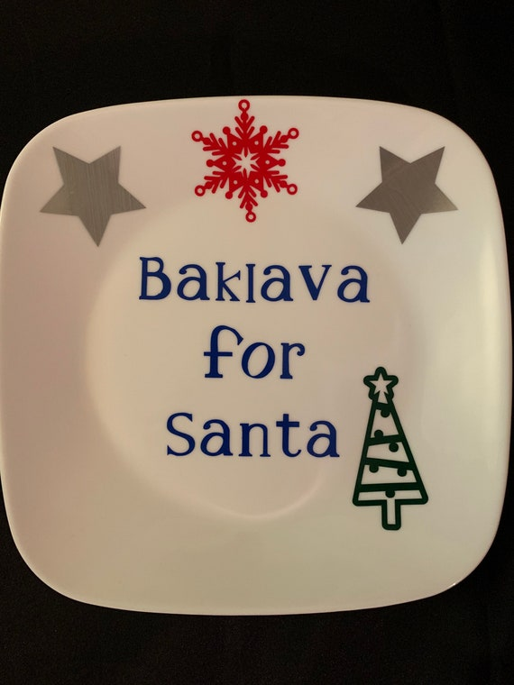 Baklava for Santa
