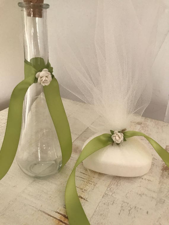 Sweet Pea - Greek Orthodox Baptism Oil Bottle & Soap