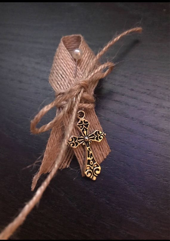 Rustic Cross Twine Martyrika Pins (Witness Pins)
