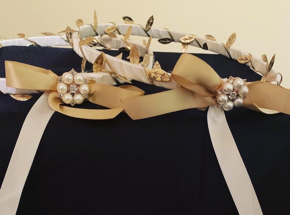 Stefana - Traditional Greek Wedding Crowns - Greek Orthodox Wedding