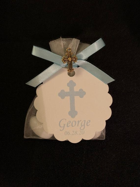 50 - Baptism / Babyshower Boubouniera - Jordan Almonds/Koufeta Favors- baby shower favor- jordan almond favor- greek traditions