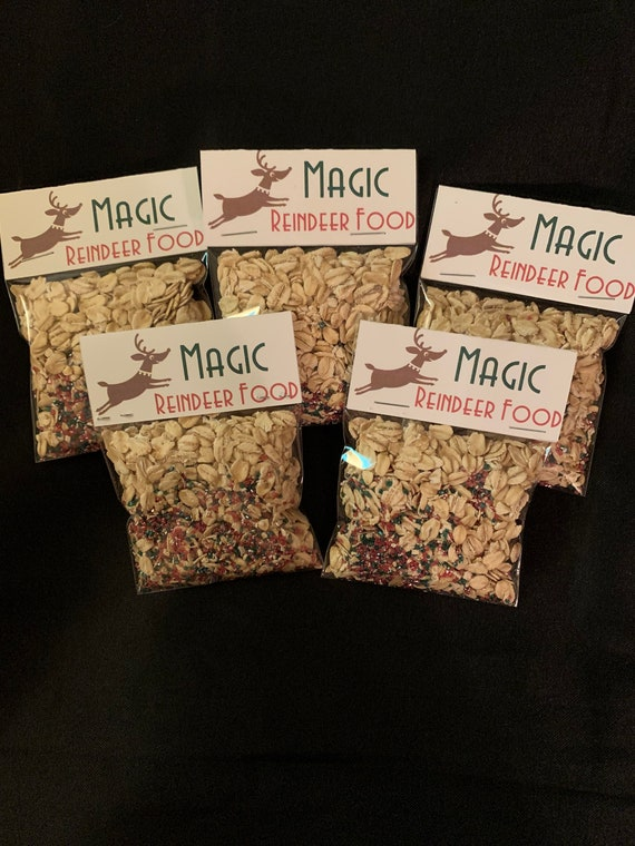 Magic Reindeer Food- Magical Christmas- Christmas Eve Magic for Children- Wildlife Safe Reindeer Food - Christmas Package item