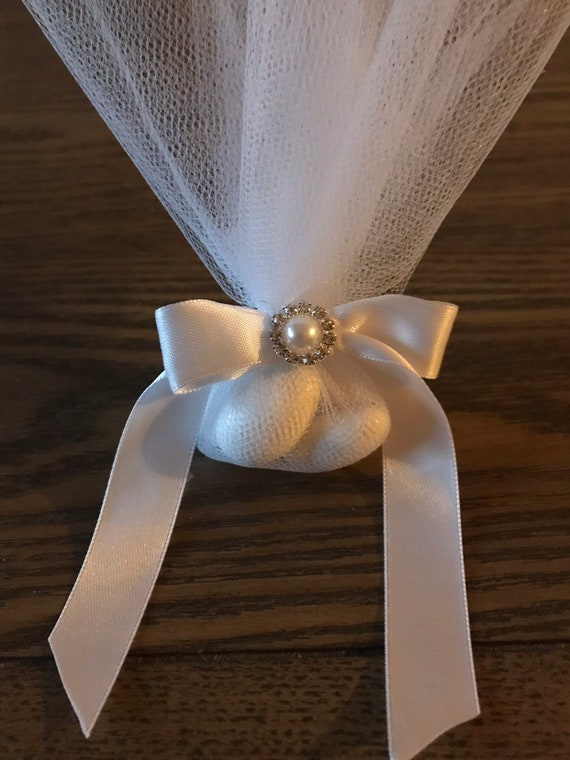 "Boubounieres ""Koufeta"" - Wedding or Baptism favors (Candy Coated Almonds)"