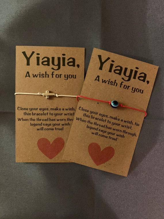 Yiayia Wish Bracelet