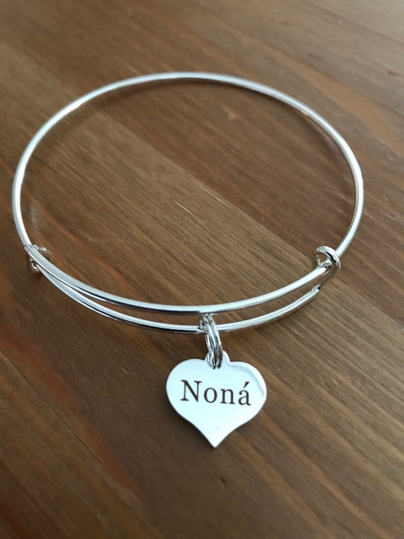 "Nona' Charm Bangle ""Godmother"""
