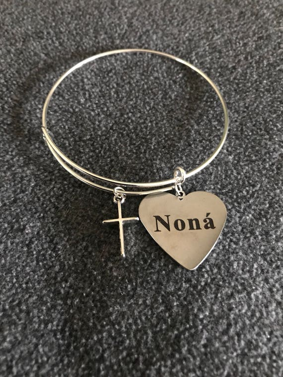 "Nona' Charm Bangle ""Godmother"" - buy any  3 or more get 1 free"