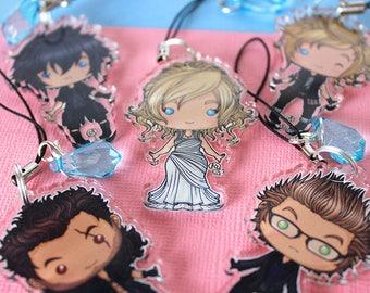 Final Fantasy XV Inspired Charms- Noctis/Prompto/Ignis/Gladio/Lunafreya