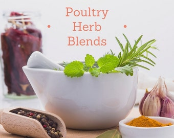 Poultry Nest Box and Coop Herbal Blend- 100% Natural, edible herbs for your birds!
