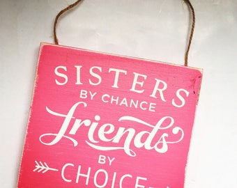 Sister By Chance Etsy