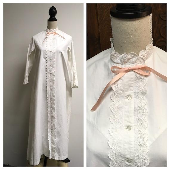 Victorian Antique Night Dress