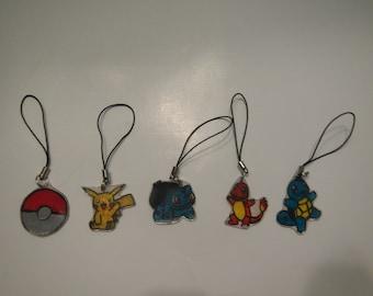 Pokemon Phone Charms