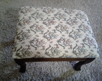 Vintage Electric Foot Stool- made by Division Products,  Corp