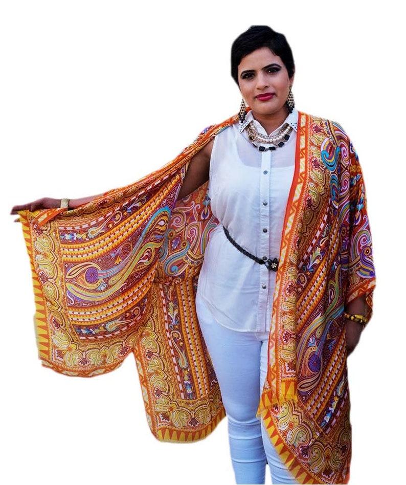 1b84d061a5bbb Silk Kimono Cover Up Sheer Kimono Cardigan Plus Size
