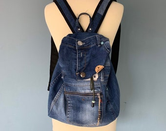 Recycled Replay Jeans Backpack