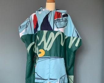 Surfponcho badcape rug towel surfcape hoodie Size M