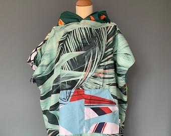 Surfponcho badcape rug towel surfcape hoodie Size S
