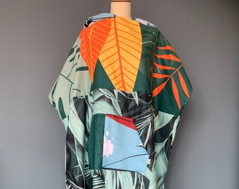 Surfponcho badcape rug towel surfcape hoodie Size L