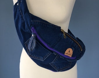 Fanny pack Jeans bum Bag beltbag denim