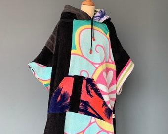 Surf poncho bathcape changing towel surf Hoodie Beach Cape