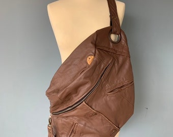 Fanny Pack Bumbag XXL from brown leather