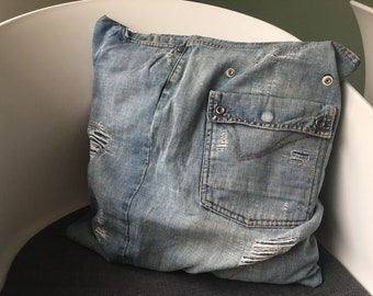 Jeans Denim Cushion