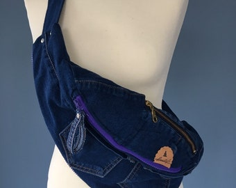 Fanny pack Jeans bum Bag beltbag denim