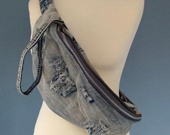Fanny pack Jeans Denim bum bag Spijkenbroek from the brand LEE