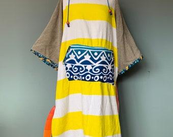 Surfponcho badcape rug towel surfcape size M