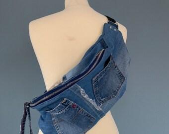 Fanny pack Jeans Denim bum bag beltbag Replay