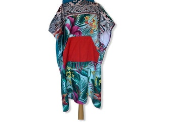 Surfponcho bathcape changing towel surfcape hoodie Size M extra wide microfiber