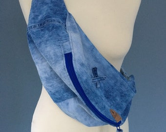 Demin Fanny Pack Hip bag bumbag of jeans crossbag