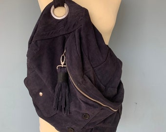 Fanny Pack waist bag with fringes in boho style
