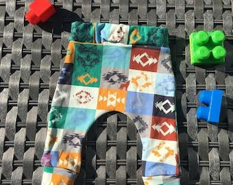 Baby Jogging pants Harem pants axtekenprint legging