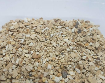 30g Limestone Yellow Mineral Rock chips