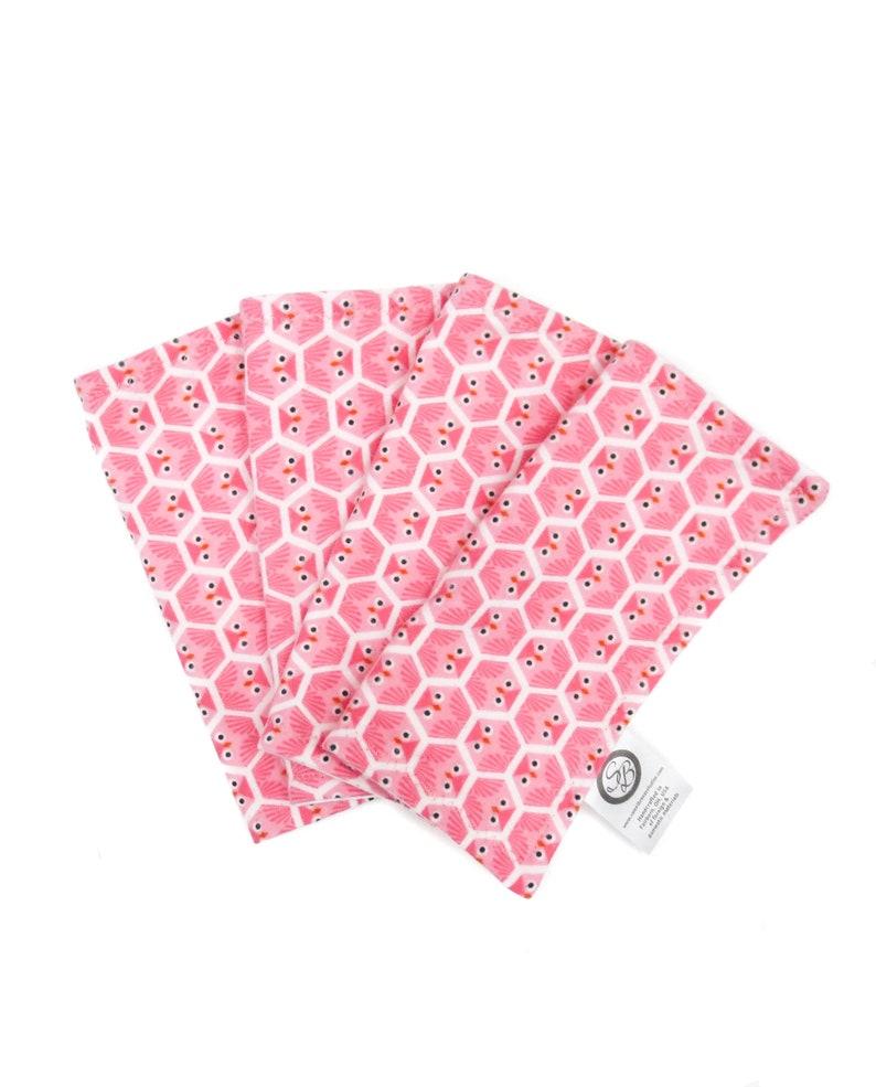 Organic Baby Washcloth - Flannel Baby Wipe - Reusable Cloth Baby Wipe -  Cotton Washcloths - Organic Baby Face Cloth -Baby Bath Set -Handmade