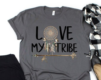 c41c8d86bf2d7b Mom Tribe Shirt