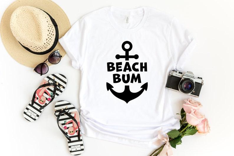 3cbfefdc7 Beach Bum Beach Shirt Beach Shirts For Women Vacation   Etsy