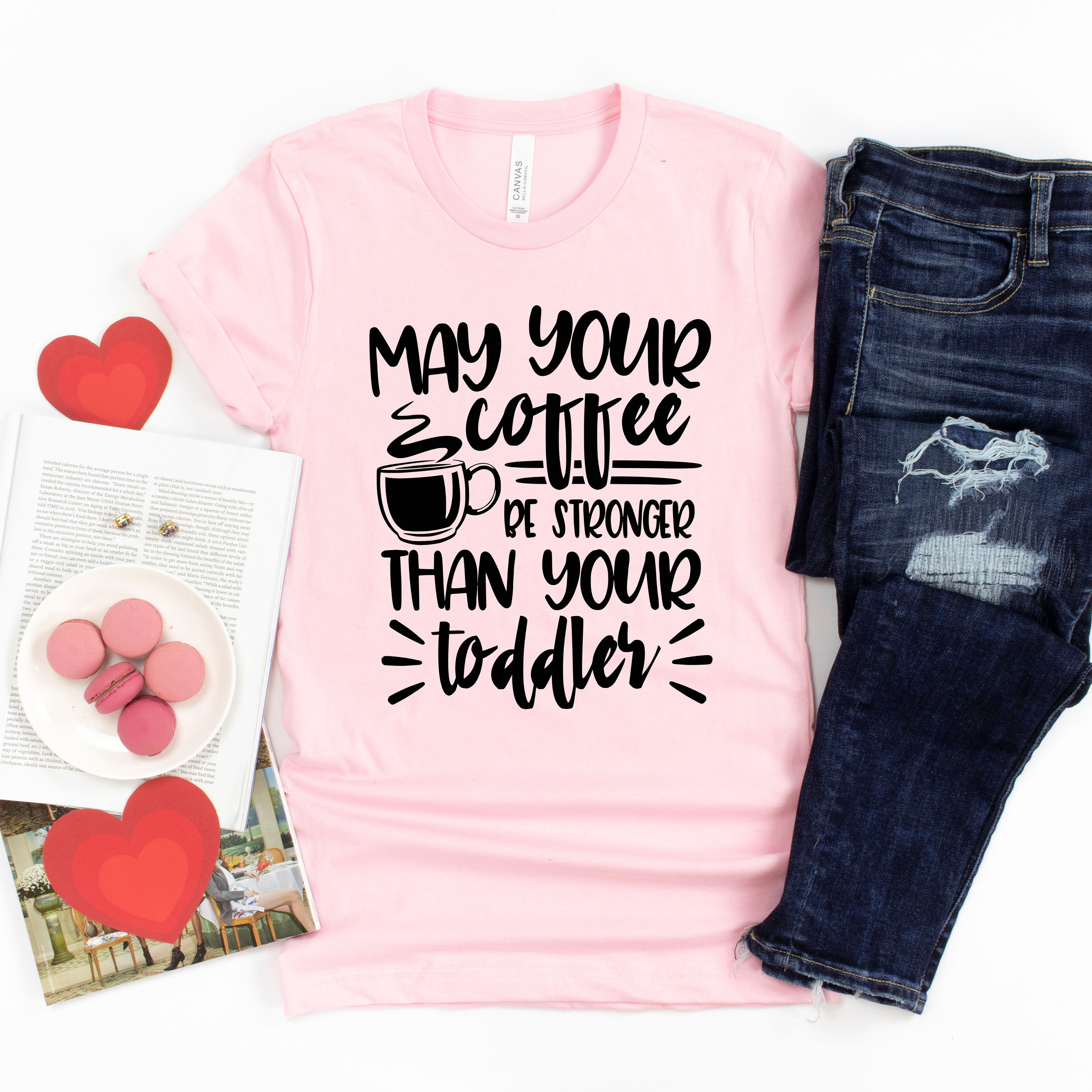 Toddler Mom TShirt Gifts for Mom Funny Tees for Her Coffee Motherhood Shirt T-Shirts for Moms