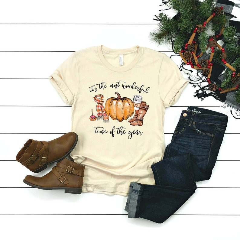 befd5e76 Fall Tees Women Fall Shirts Women Cute Fall Shirts For   Etsy