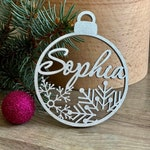 """Christmas bauble personalized Christmas toy CHRISTMAS gift -Please Send your phone number in the """"NOTE to the seller"""""""