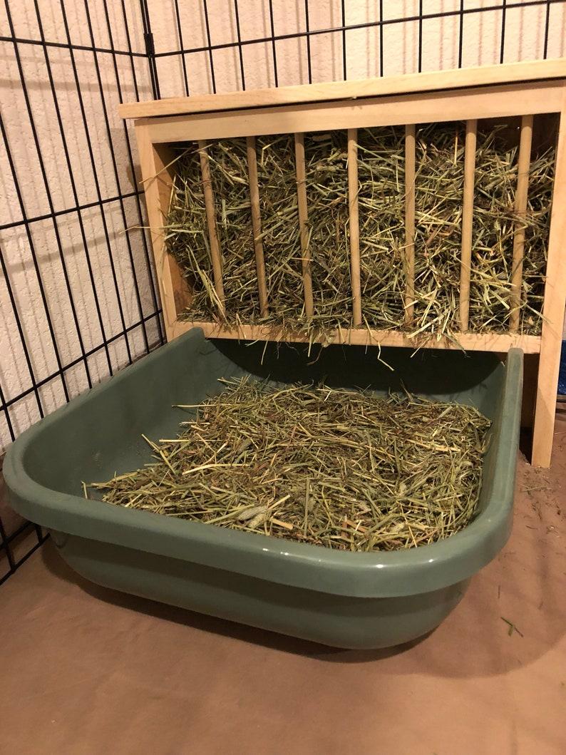 Bunny Hay Dispenser