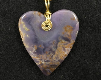 Purple Heart - Burro Creek Agate