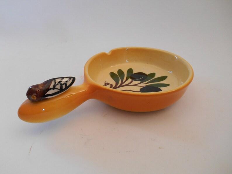 Vintage French Porcelain Olive Dish
