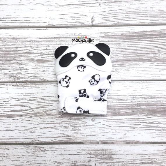 Panda teething mitten