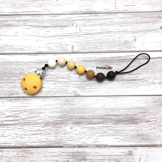 Baby pacifier holder, silicone pacifier chain, food grade silicone, silicone chew toy, baby safe, anchor, custom product, shower, Mâchouille