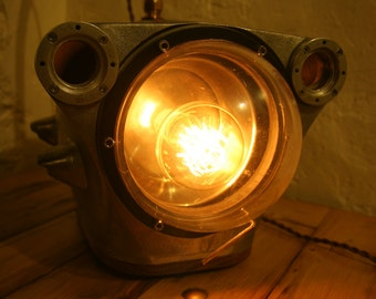 Upcycled Submersible Camera / Desk Lamp