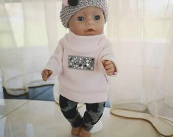 43cm-NEU Micky Mouse Junge Puppenkleidung/Puppenbekleidung Baby Born,Krümel