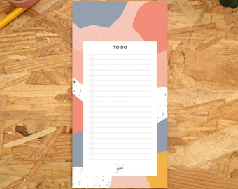 Cute To Do List Notepad, Chore List, Task List, To-Do Pad, Gift for her