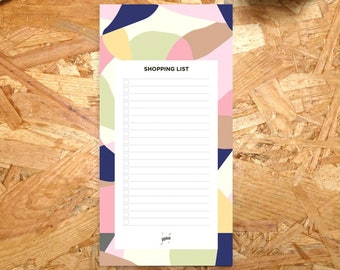 Shopping List Pad, Grocery List, Kitchen Notepad, Shopping Notepad, Mom Gift, Grocery Shopping, List Pad