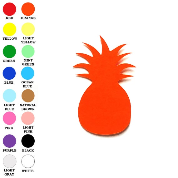 10x Wooden Ornament Pineapple Shape for DIY Scrapbooking Home Party Decor Craft